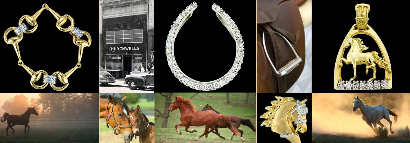 Churchwell's Jewelers Equestrian Jewelry