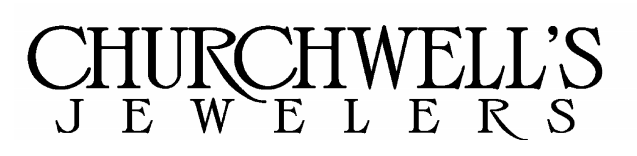 Churchwell's Jewelers Logo